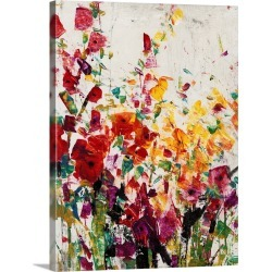 Large Solid-Faced Canvas Print Wall Art Print 30 x 40 entitled Wildflowers Blooming I found on Bargain Bro Philippines from Great Big Canvas - Dynamic for $274.99