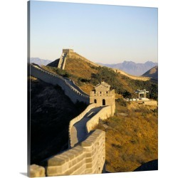 Large Solid-Faced Canvas Print Wall Art Print 24 x 30 entitled The Great Wall of China, China, Asia