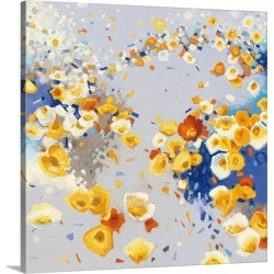 Large Solid-Faced Canvas Print Wall Art Print 20 x 20 entitled Millefiori - Square