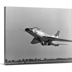 Large Gallery-Wrapped Canvas Wall Art Print 20 x 16 entitled North American Super Sabre