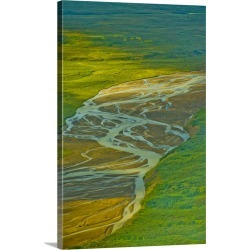 Large Gallery-Wrapped Canvas Wall Art Print 16 x 24 entitled Pacific Northwest, Alaska, above Katmai National Park found on Bargain Bro India from Great Big Canvas - Dynamic for $214.99