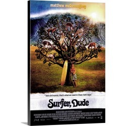 Large Solid-Faced Canvas Print Wall Art Print 20 x 30 entitled Surfer, Dude (2008)