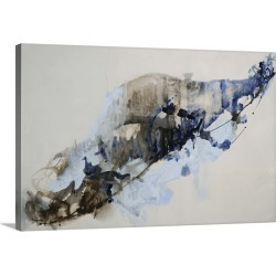 Large Gallery-Wrapped Canvas Wall Art Print 24 x 15 entitled Tinge of Indigo found on Bargain Bro India from Great Big Canvas - Dynamic for $164.99