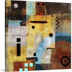 Large Gallery-Wrapped Canvas Wall Art Print 16 x 16 entitled Village Story I found on Bargain Bro India from Great Big Canvas - Dynamic for $164.99