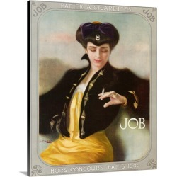 Large Gallery-Wrapped Canvas Wall Art Print 16 x 20 entitled 1900's UK Job Poster