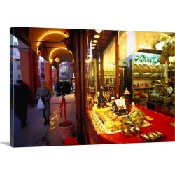 Large Solid-Faced Canvas Print Wall Art Print 30 x 20 entitled Italy, Emilia-Romagna, Delicatessen shop Fini found on Bargain Bro Philippines from Great Big Canvas for $189.99