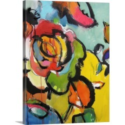 Large Gallery-Wrapped Canvas Wall Art Print 18 x 24 entitled Please Come In
