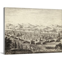Large Solid-Faced Canvas Print Wall Art Print 40 x 30 entitled Baghdad, Iraq, In Late 18th Century