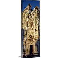 Large Solid-Faced Canvas Print Wall Art Print 16 x 48 entitled Duomo Florence Italy