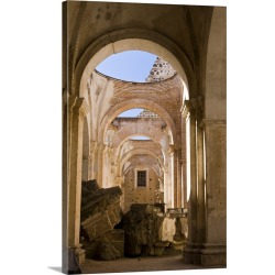 Large Gallery-Wrapped Canvas Wall Art Print 16 x 24 entitled Guatemala, Antigua, The Ruins of the Cathedral de Antigua found on Bargain Bro India from Great Big Canvas - Dynamic for $169.99