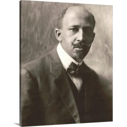 Large Solid-Faced Canvas Print Wall Art Print 24 x 30 entitled W.E.B. Du Bois