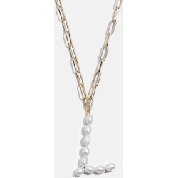 Blair Hera Pearl Initial Pendant-L found on Bargain Bro India from baublebar - dynamic for $48.00