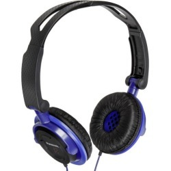 Panasonic RP-DJS150 Compact Street Headphones - Blue