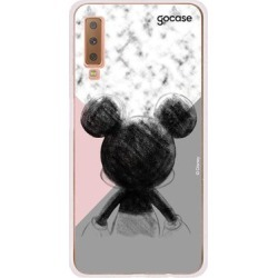 Capa Gocase Glitter Rose Samsung Galaxy A7 (2018) - Mickey Tricolor found on Bargain Bro from giuliana flores BR for USD $22.31