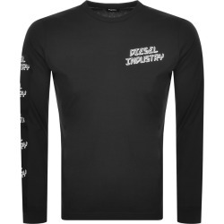 Diesel T Diego Long Sleeved T Shirt Black found on Bargain Bro from Mainline Menswear for £27