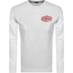 Diesel T Diegos K24 Long Sleeve T Shirt White found on Bargain Bro India from Mainline Menswear Australia for $67.32