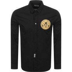 Versace Jeans Couture Long Sleeved Shirt Black found on Bargain Bro UK from Mainline Menswear
