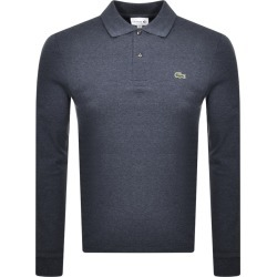 Lacoste Long Sleeved Polo T Shirt Blue found on Bargain Bro India from Mainline Menswear Australia for $123.75