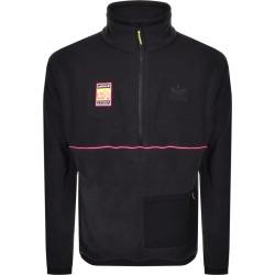 adidas Originals Half Zip Polar Fleece Top Black found on Bargain Bro UK from Mainline Menswear