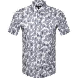 Michael Kors Short Sleeved Leaf Shirt Off White found on Bargain Bro UK from Mainline Menswear
