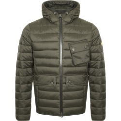 Barbour International Quilted Ouston Jacket Green found on Bargain Bro UK from Mainline Menswear