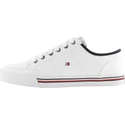 Tommy Hilfiger Corporate Canvas Trainers White found on Bargain Bro from Mainline Menswear for £52