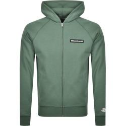 Billionaire Boys Club Full Zip Logo Hoodie Green found on MODAPINS from Mainline Menswear Australia for USD $232.22