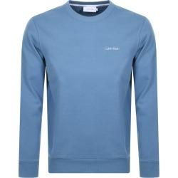 Calvin Klein Logo Crew Neck Sweatshirt Blue found on Bargain Bro UK from Mainline Menswear