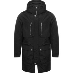 Armani Exchange Long Trench Jacket Black found on MODAPINS from Mainline Menswear Australia for USD $356.65