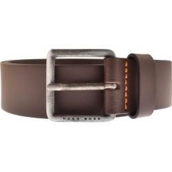 BOSS Leather Jeeko Belt Brown found on Bargain Bro UK from Mainline Menswear