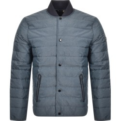 Barbour International Quilted Redwell Jacket Blue found on Bargain Bro UK from Mainline Menswear