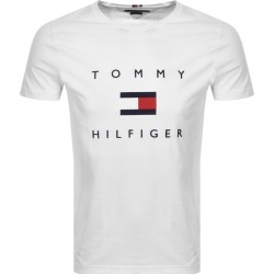 Tommy Hilfiger Flag T Shirt White found on Bargain Bro UK from Mainline Menswear