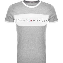 Tommy Hilfiger Lounge Logo Flag T Shirt Grey found on Bargain Bro UK from Mainline Menswear