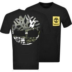 Timberland Crew Neck Logo T Shirt Black found on Bargain Bro UK from Mainline Menswear