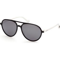 Moncler ML0151 Sunglasses White found on Bargain Bro UK from Mainline Menswear