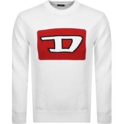 Diesel K LogoX Knit Jumper White found on Bargain Bro from Mainline Menswear for £70