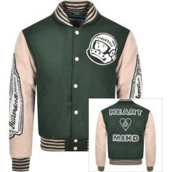 Billionaire Boys Club Astro Varsity Jacket Green found on MODAPINS from Mainline Menswear Australia for USD $656.86