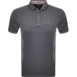 Ted Baker Short Sleeve Earbus Polo T Shirt Grey found on Bargain Bro UK from Mainline Menswear