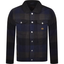 Superdry Check Sherpa Trucker Jacket Navy found on Bargain Bro India from Mainline Menswear Australia for $162.95