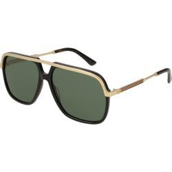 Gucci GG0200S Sunglasses Black found on Bargain Bro UK from Mainline Menswear