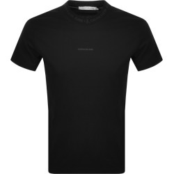 Calvin Klein Jeans Jacquard T Shirt Black found on Bargain Bro India from Mainline Menswear Australia for $48.13