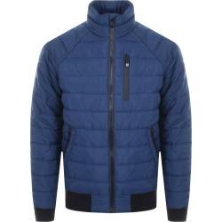 Superdry Padded Bomber Jacket Blue found on Bargain Bro UK from Mainline Menswear