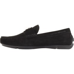 Emporio Armani Suede Driver Shoes Black found on Bargain Bro UK from Mainline Menswear