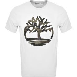 Timberland Camouflage Tree Logo T Shirt White found on Bargain Bro UK from Mainline Menswear