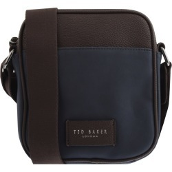 Ted Baker Nubuck Mini Flight Bag Navy found on Bargain Bro UK from Mainline Menswear