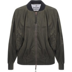 Vivienne Westwood Wilma Bomber Jacket Green found on Bargain Bro UK from Mainline Menswear