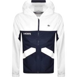 Lacoste Sport Full Zip Jacket White found on Bargain Bro UK from Mainline Menswear