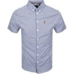 Luke 1977 Short Sleeved Jimmy Shirt Navy found on Bargain Bro UK from Mainline Menswear
