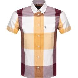 Aquascutum Henlake Check Short Sleeve Shirt Yellow found on MODAPINS from Mainline Menswear Australia for USD $165.59