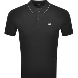 CP Company Logo Short Sleeved Polo Black found on MODAPINS from Mainline Menswear Australia for USD $122.78